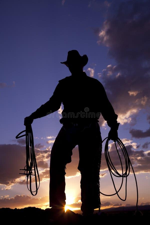 Corde de cowboy photo stock