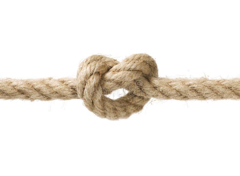 corde de noeud image libre de droits