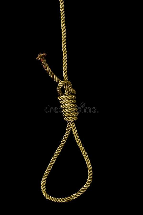 corde de noeud de potence photo libre de droits