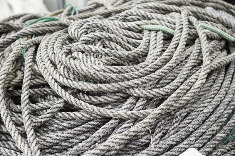 Corde de pêche photographie stock libre de droits