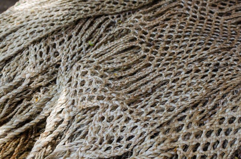 Corde nautiche come immagine di sfondo immagine stock libera da diritti