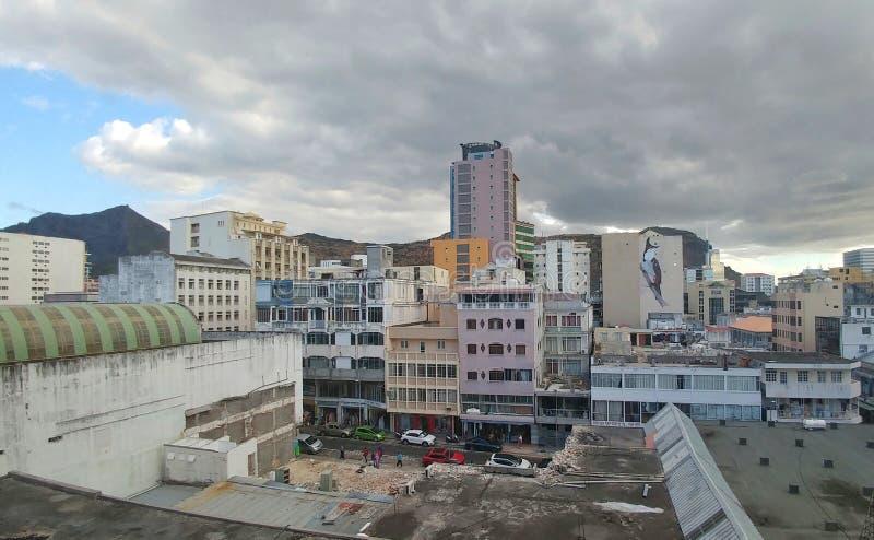 Corderie ulica w port-louis Mauritius zdjęcie royalty free