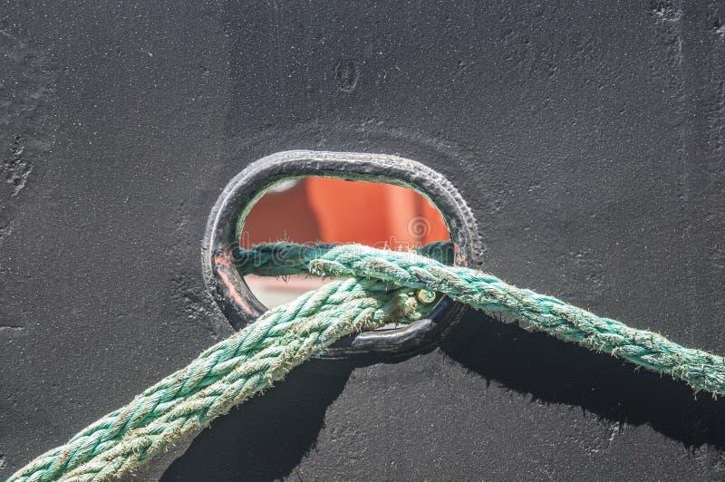 Cordes de bateau images libres de droits