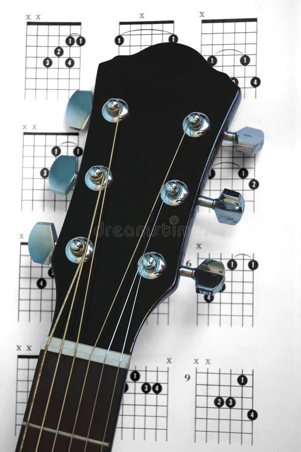 Cordes de guitare photos libres de droits