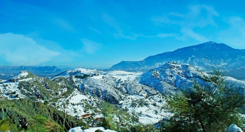 Cordilheira de Pindus, Grécia imagens de stock