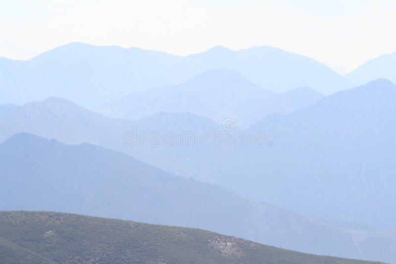 Cordillera foto de archivo libre de regalías