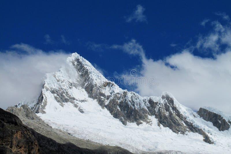 Cordillera Blanca pasmo górskie, Peru zdjęcie stock