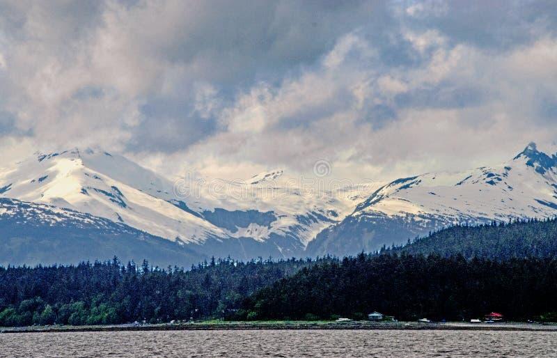 Cordillera costera foto de archivo
