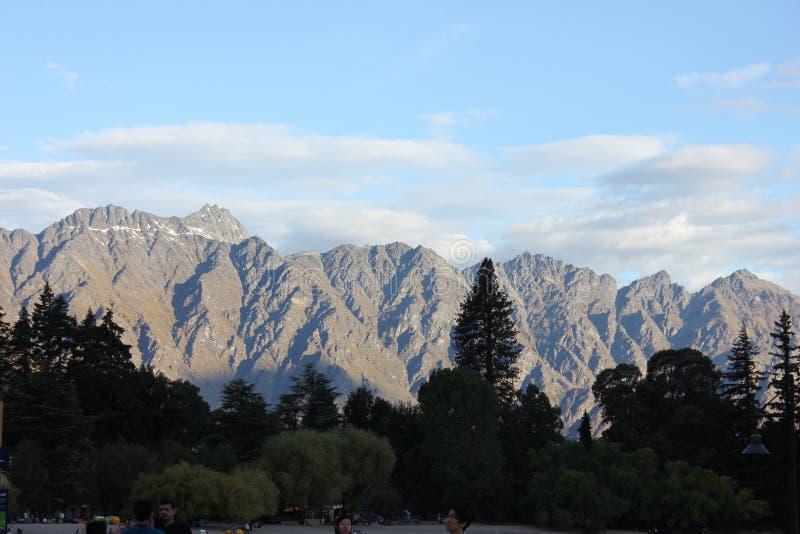 Cordillera de Nueva Zelanda fotografía de archivo libre de regalías