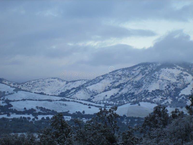 Cordillera de Squaw Valley imagen de archivo libre de regalías