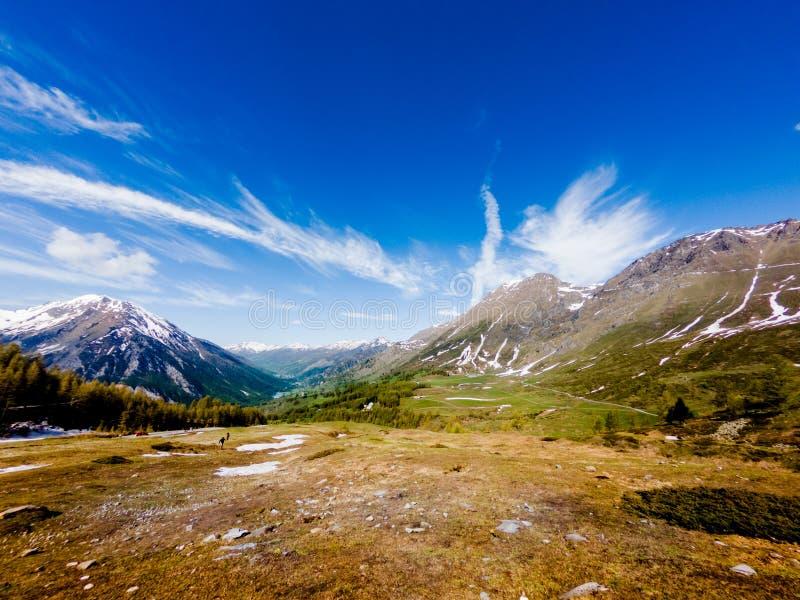 Cordillera en las montañas foto de archivo