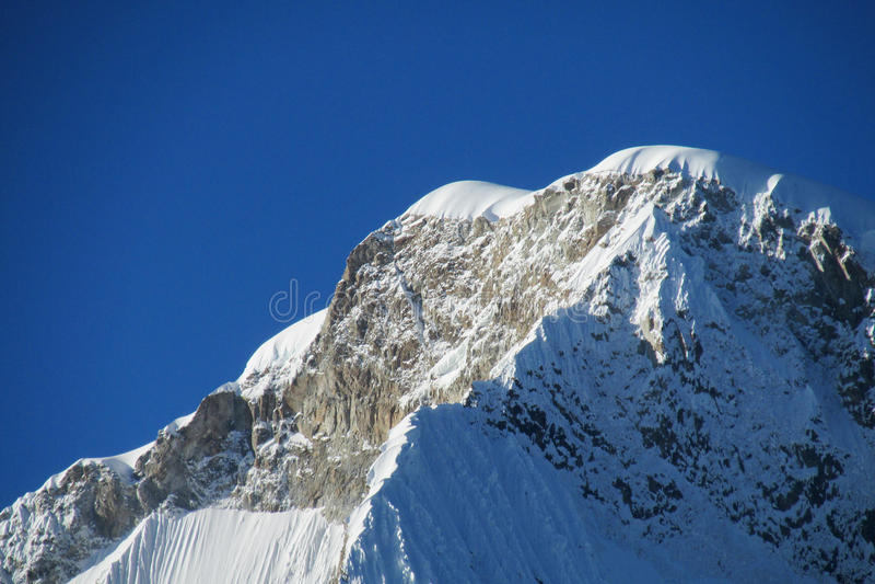 Cordillerablanca bergen stock afbeeldingen