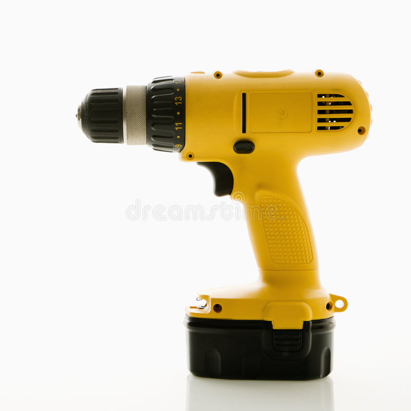 Free Cordless Drill. Stock Photography - 3532322