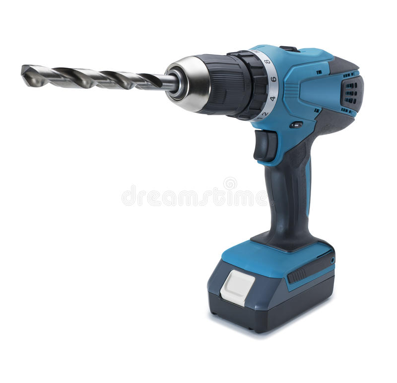 Download Cordless Drill Power Tool stock image. Image of construction - 22436059