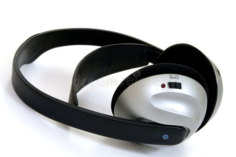 Download Cordless Headphones stock image. Image of background, song - 63037