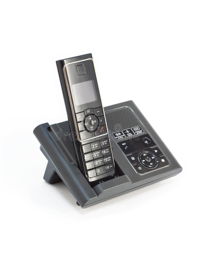 Cordless phone royalty free stock photos