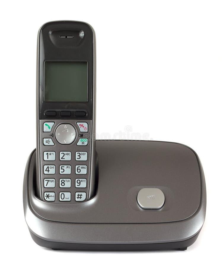 Cordless phone stock photography