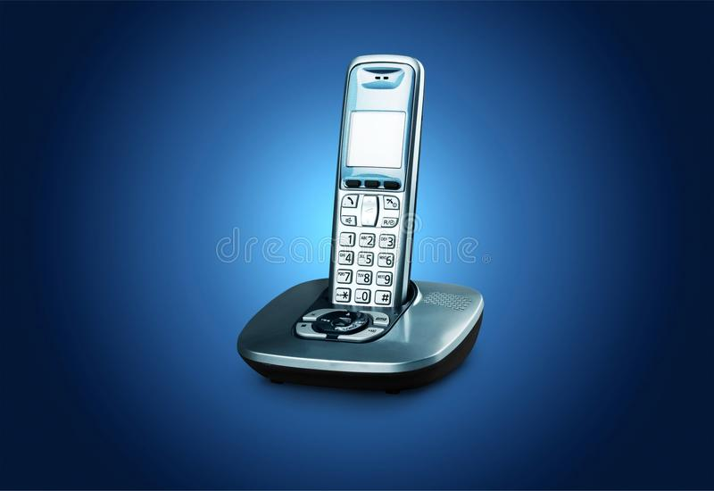 Cordless phone royalty free stock image
