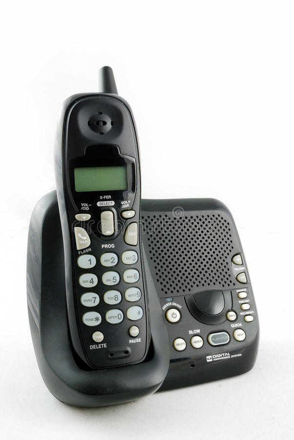 Download Cordless phone set stock image. Image of device, dial - 12799135
