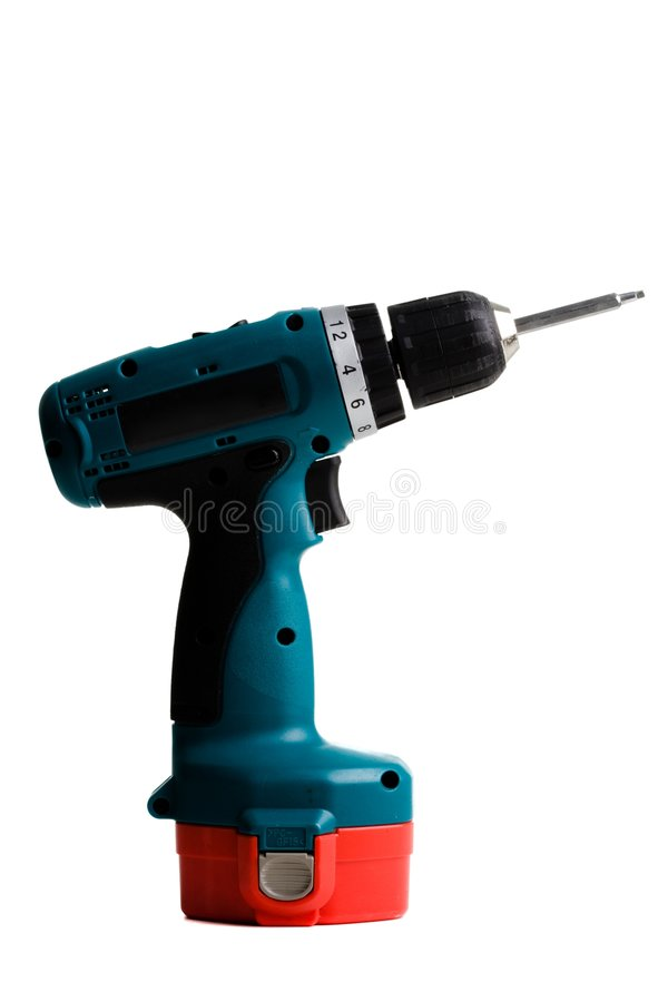 Free Cordless Power Drill Royalty Free Stock Image - 4660736