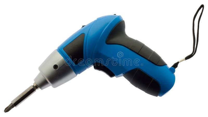 Cordless screwdriver royalty free stock image