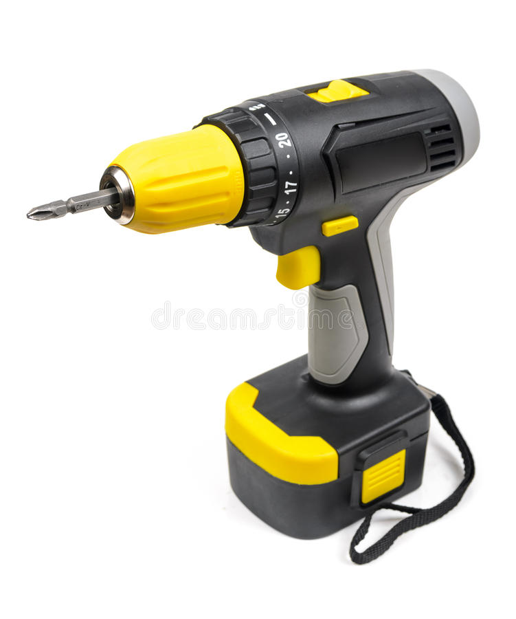 Cordless Screwdriver stock images
