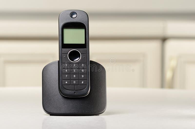 Cordless telefon obraz stock