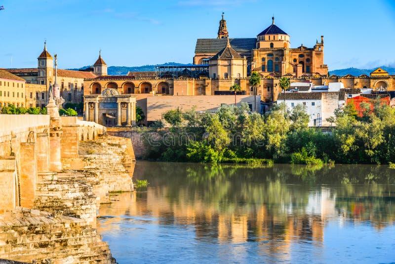Cordoba - собор Mezquita, Андалусия, Испания стоковые фотографии rf