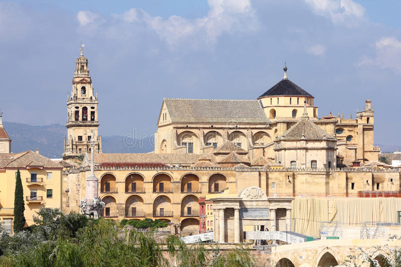 Cordoba. Spain. The Great Mosque (currently Catholic cathedral). UNESCO World Heritage Site stock photo