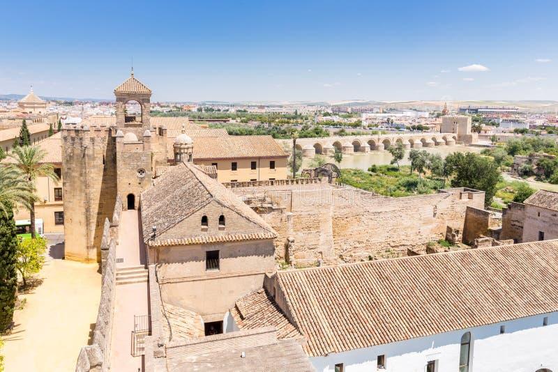 Cordoba Alcazar. Cordoba , Andalusia , Spain royalty free stock photography