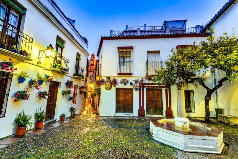 Cordoba Andalusia, Spanien royaltyfri foto