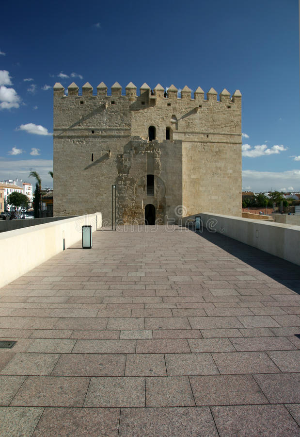 Cordoba, arabian Calahorra Tower stock photo