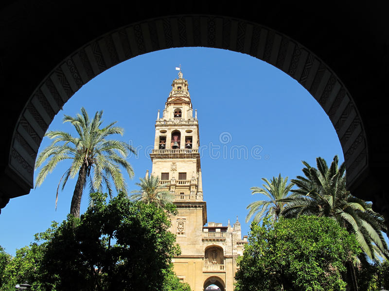 Download Cordoba Cathedral Arch Framed Royalty Free Stock Photo - Image: 16199305