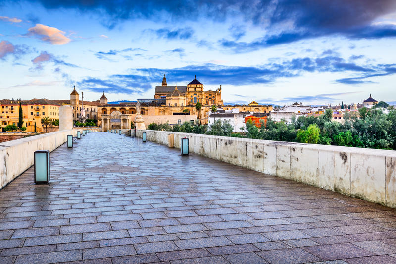 Cordoba - Cathedral Mezquita, Andalusia, Spain royalty free stock images