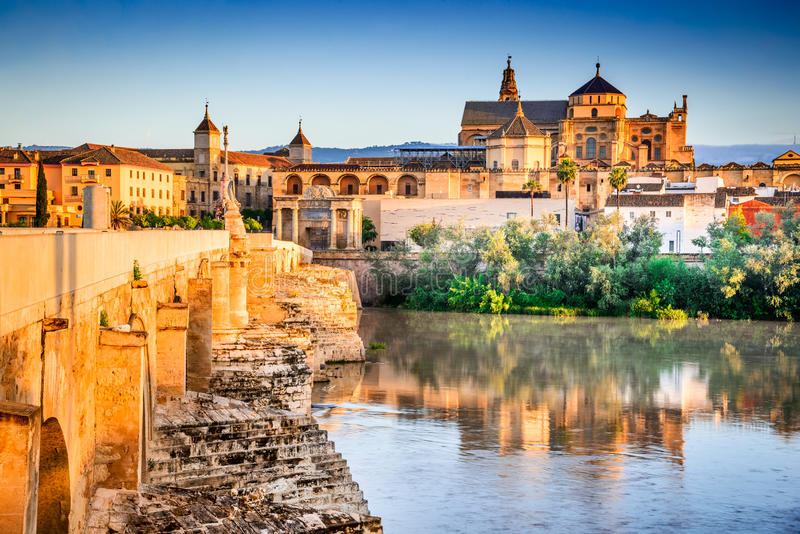 Cordoba - Cathedral Mezquita, Andalusia, Spain royalty free stock photos