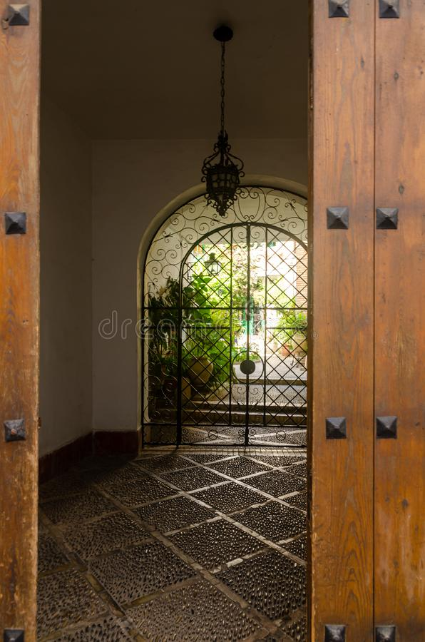 Cordoba is located in the Andalucia region of Spain a popular tourist destination. Cordoba, Spain, is a collection of past and modernity, it is a thousand-year royalty free stock photo
