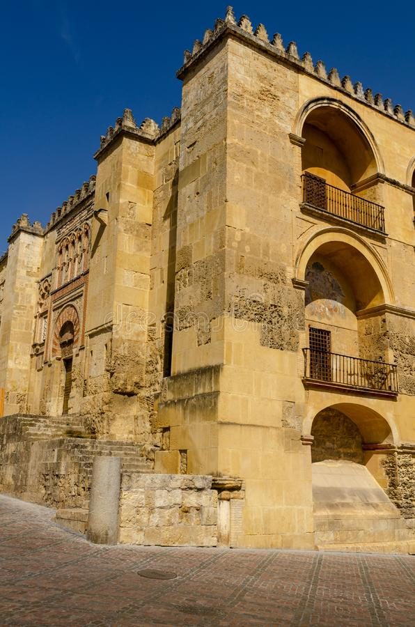 Cordoba is located in the Andalucia region of Spain a popular tourist destination. Cordoba, Spain, is a collection of past and modernity, it is a thousand-year royalty free stock photography