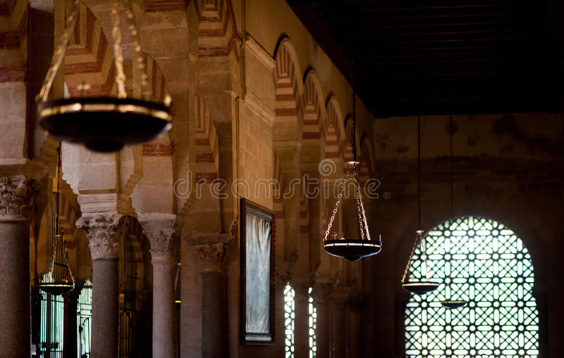 cordoba mezquita royaltyfria bilder