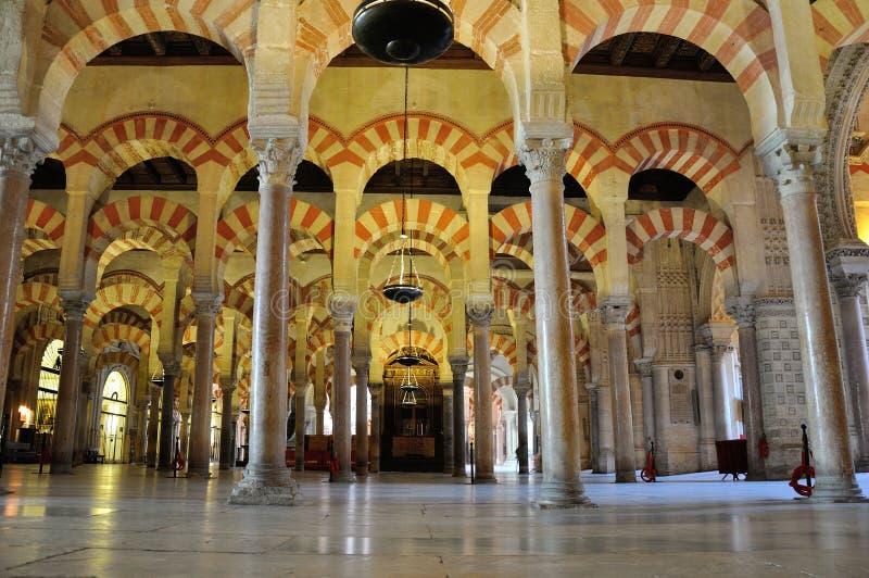 cordoba mezquita royaltyfria foton