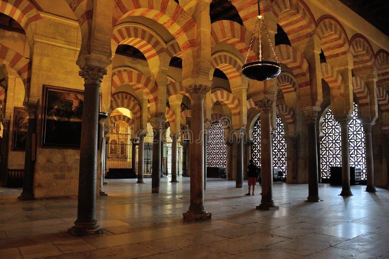 cordoba mezquita arkivfoton