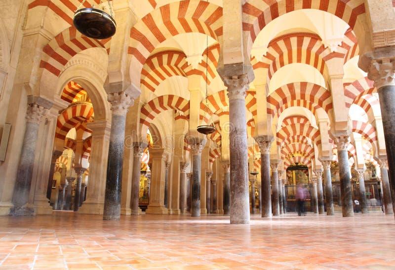 cordoba mezquita spain fotografering för bildbyråer