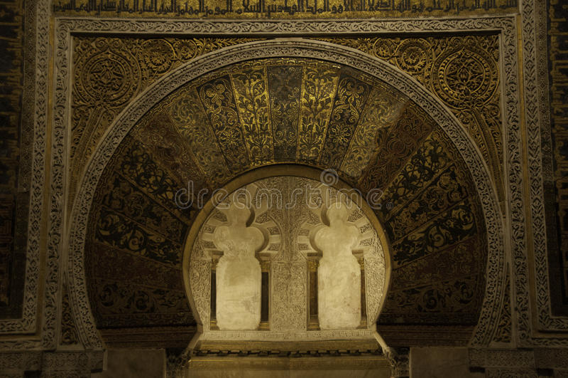 Cordoba moské, Spanien royaltyfria bilder