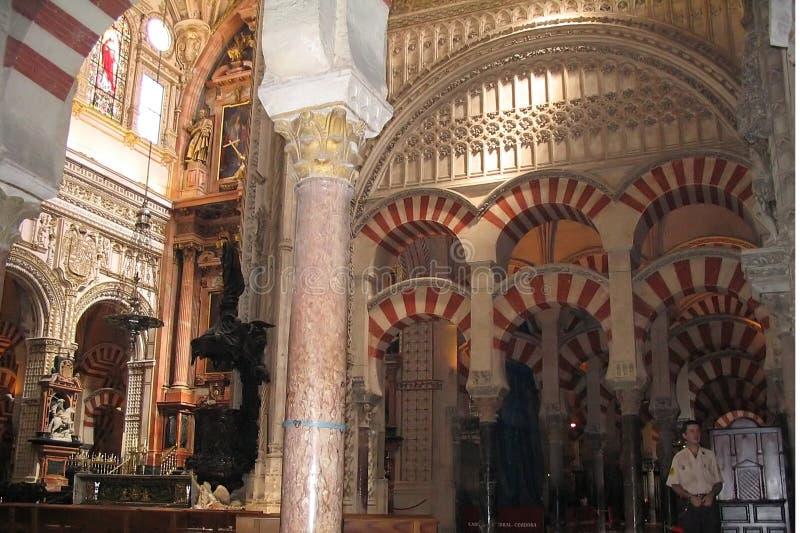 Cordoba Mosque Spain stock image
