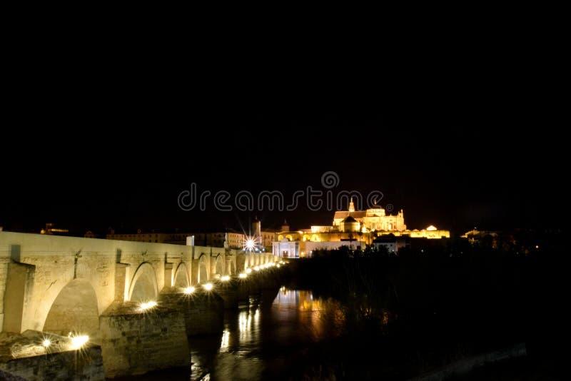 Cordoba. Night in Cordoba, Andalusia, Spain royalty free stock photos