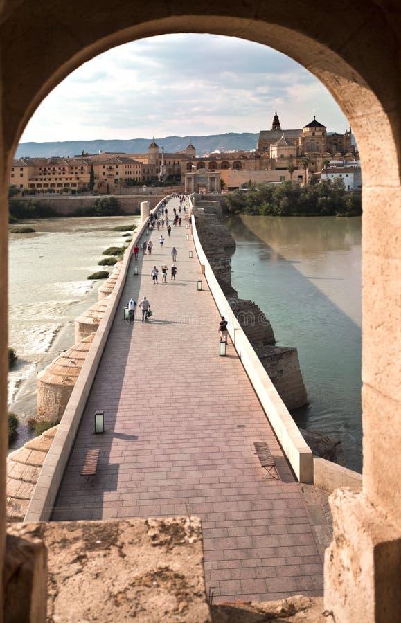 Cordoba Roman Bridge royalty free stock photo