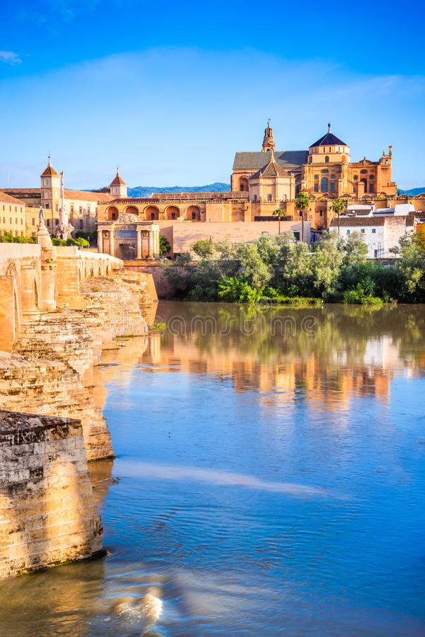 Cordoba, Andalusia, Spain - - Cathedral Mezquita, royalty free stock image