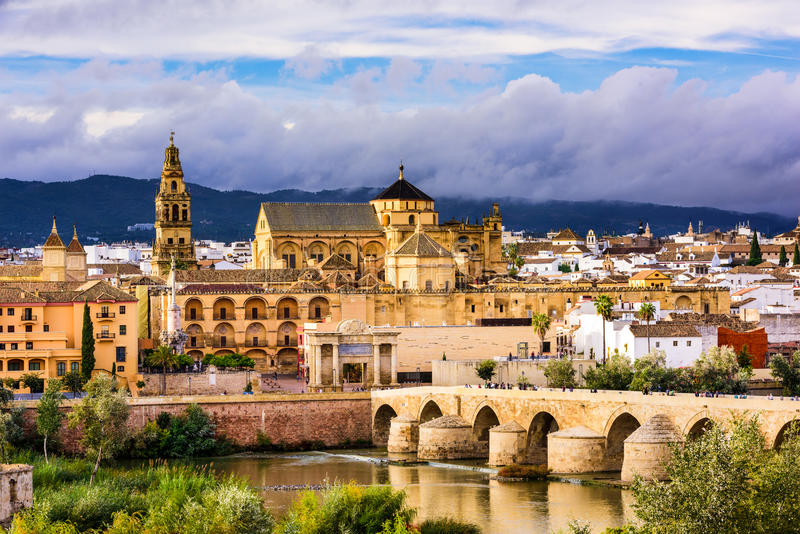 Cordoba Spain Mosque stock images