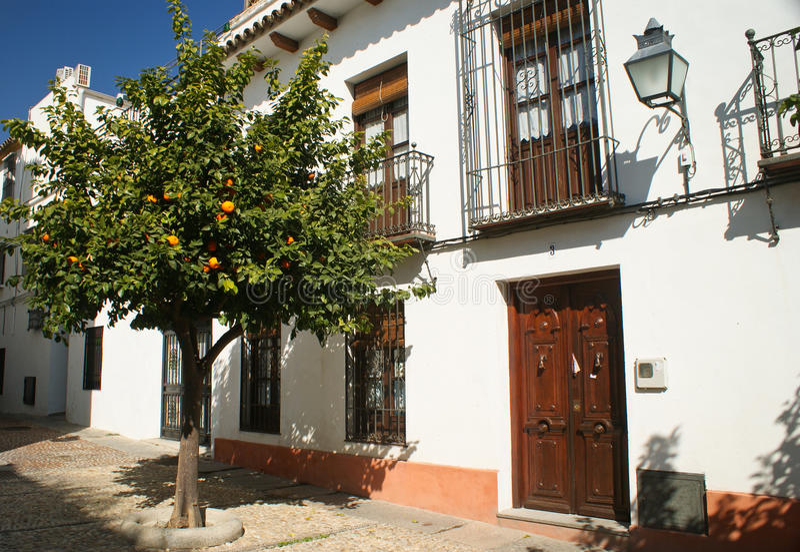 Cordoba Spanien arkivbilder