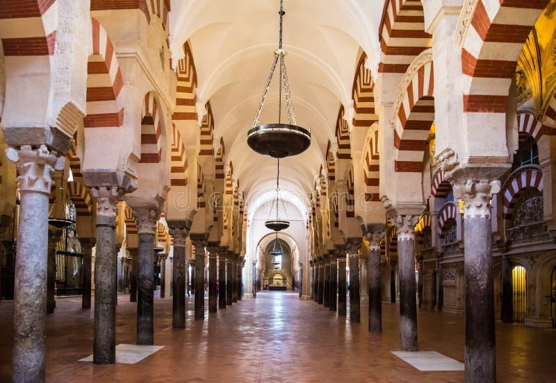 Cordoba, Spanien Die große Moschee (aktuell katholische Kathedrale) stockfoto