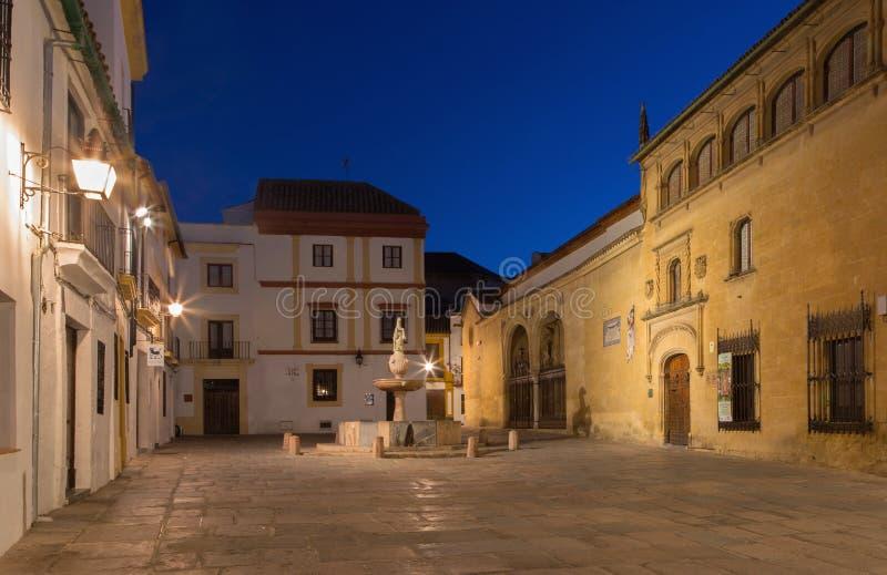 Cordobra - place de Porto de del de plaza photo libre de droits